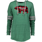 MAMA BEAR - Holloway Ladies Hooded Low Key Pullover - American Style Clothing Company