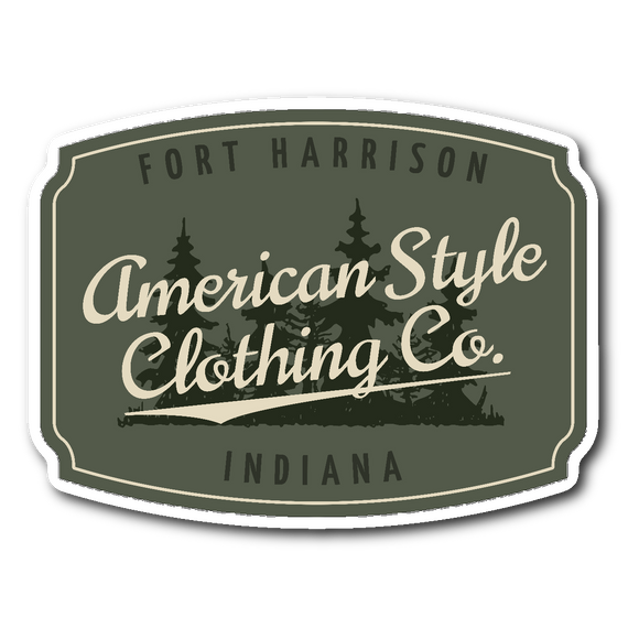AMERICAN STYLE CLOTHING CO. STICKER