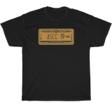 INDIANA LICENSE PLATE - Heavy Cotton Tee