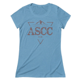 You won't want to take off this t-shirt, featuring a uniquely soft triblend heather fabrication, modern feminine fit, crew neck and short sleeves. You can pull this look off.VINTAGE ASCC - Triblend Short Sleeve Tee  You won't want to take off this tee, featuring a uniquely soft triblend heather fabrication, modern feminine fit, crew neck and short sleeves. You can pull this look off.