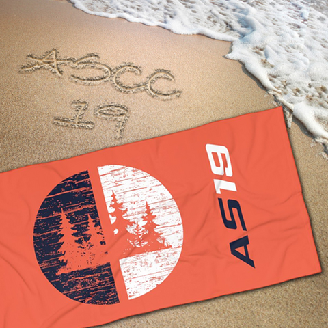 AS19 - Beach Towel - American Style Clothing Company
