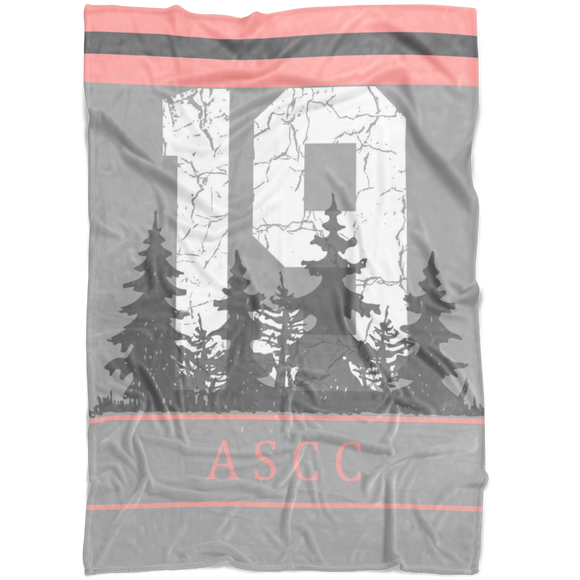 AMERICAN STYLE CLOTHING CO. ASCC 19 GRAY FLEECE BLANKET