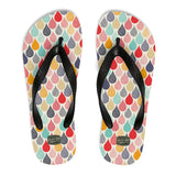 COLORFUL DROPS - Flip-Flops