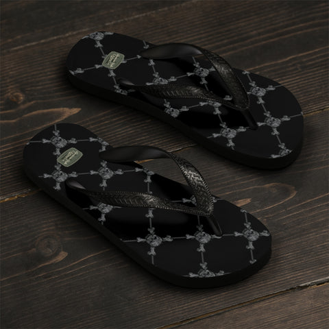 SKULLS - Flip-Flops - American Style Clothing Company