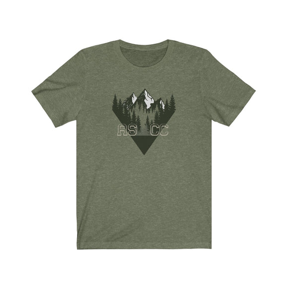 MOUNTAINS - Jersey Short Sleeve Tee