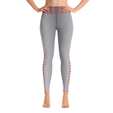 BASEBALL STITCHING -  Yoga Leggings - American Style Clothing Company