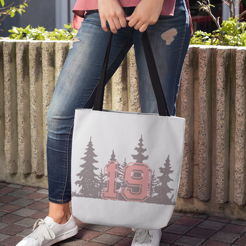 PLAID 19 - Tote Bag - American Style Clothing Company