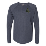 ASCC INTERLOCKED  Triblend Long Sleeve Henley
