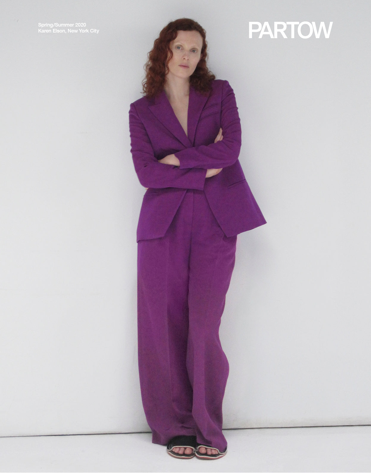 PARTOW Spring / Summer 2020 Karen Elson New York City
