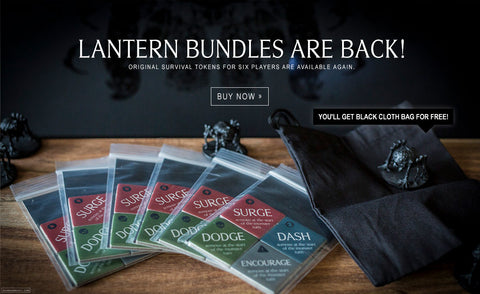 Survival Tokens Lantern Bundle (x6) back in stock!