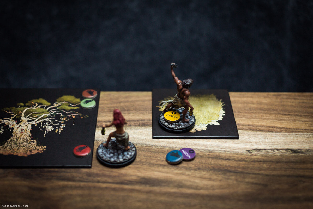 Activate & Hide Tokens for Kingdom Death: Monster