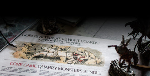 Hobo's Hunt Boards (CoreGame) for Kingdom Death: Monster
