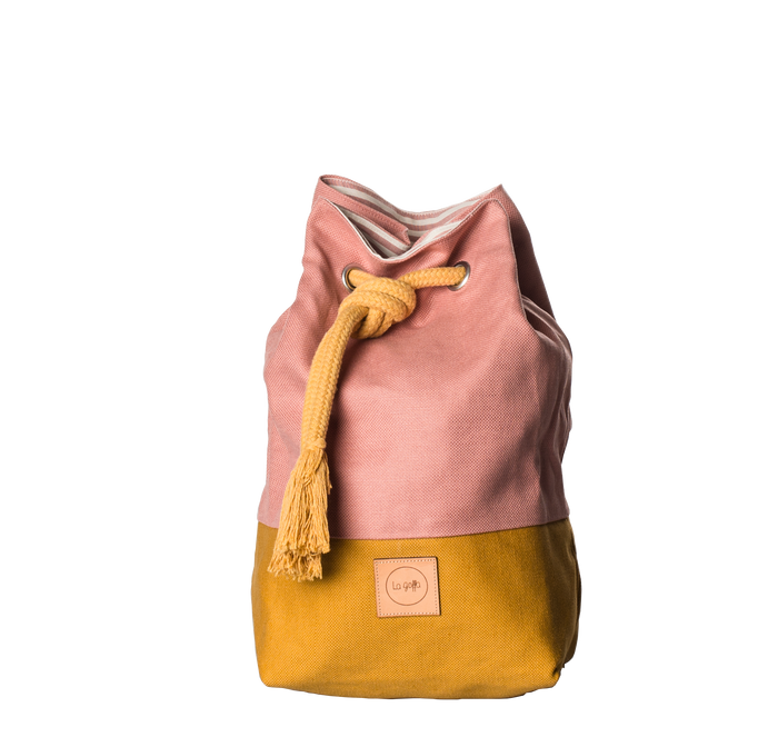 Color Block - Mustard+Rose - La goffa