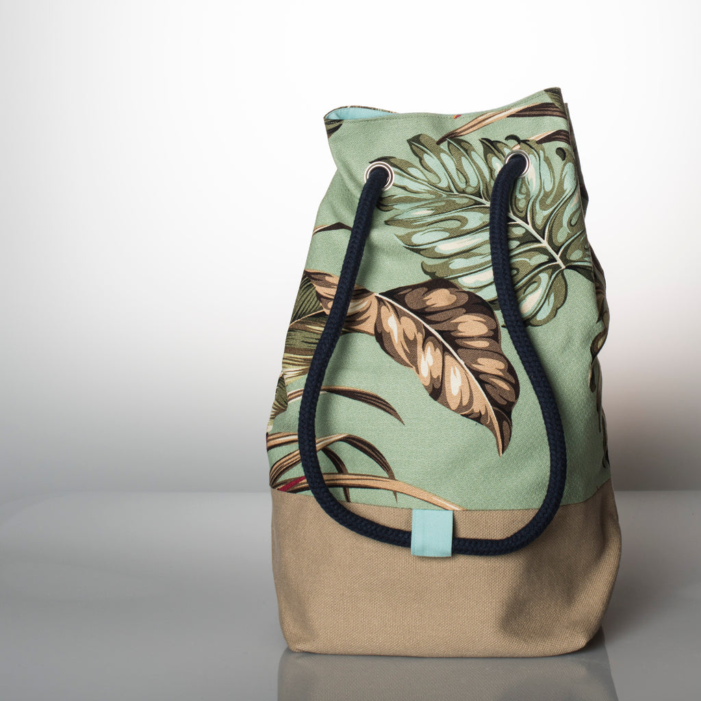 BACK BANANA LEAF -  LA GOFFA BAG