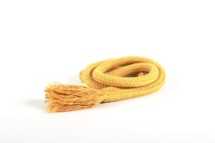 Mustard natural cotton rope