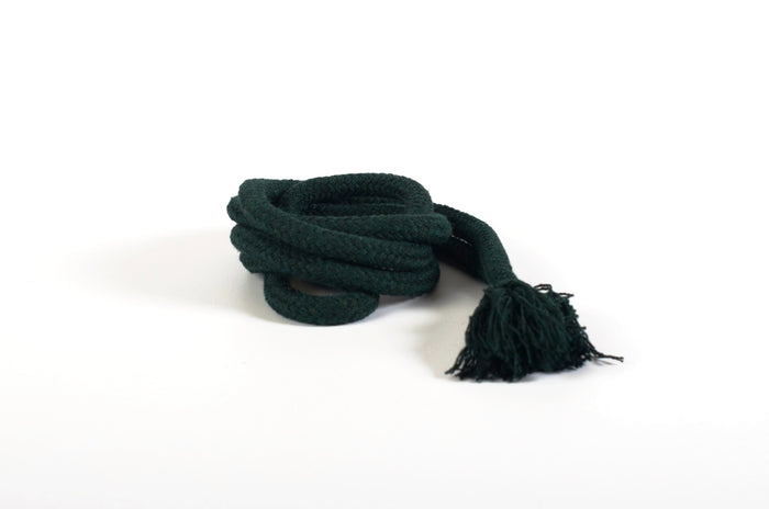 Green natural cotton Rope