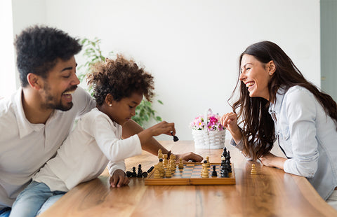 Bonding with your child through chess