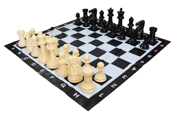 20cm mini garden chess set