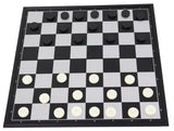 magnetic 3-in-1: chess, checkers and backgammon set