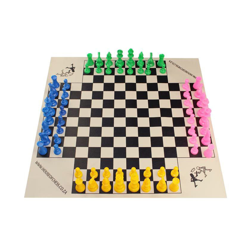 Four Player Chess Set House Of Chess
