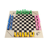 four-player chess set