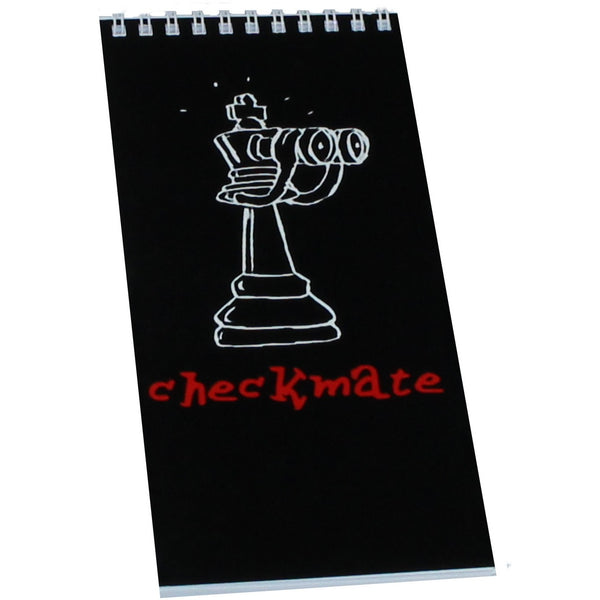 40-page checkmate notation pad