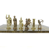 greek archers - gold & bronze, large (brown & gold board)