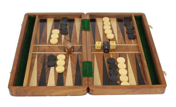 wooden backgammon (medium - 30cm)