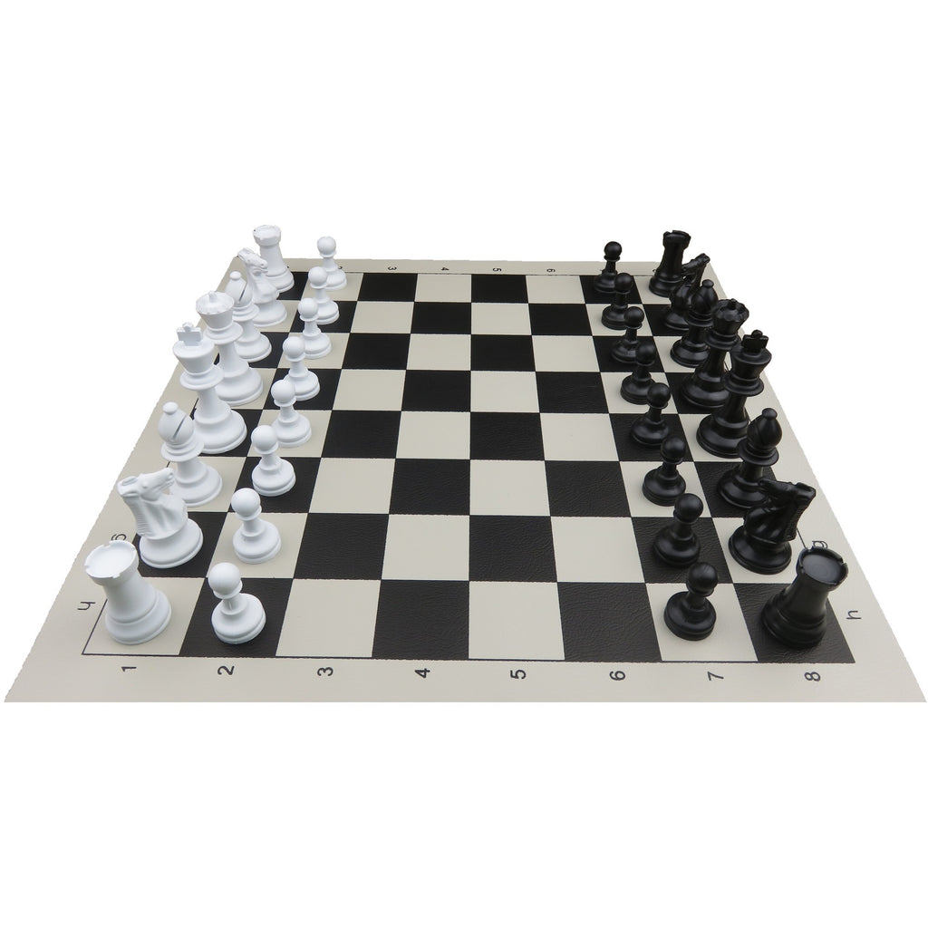 Basic chess set house of chess - Simple chess set ...