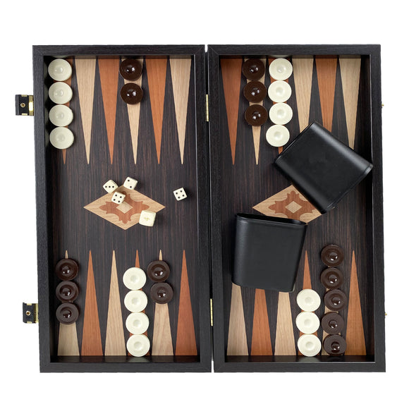 wenge replica backgammon (38cm)