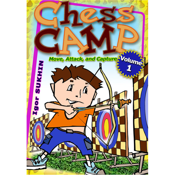 chess camp 1, move, attack and capture - Sukhin
