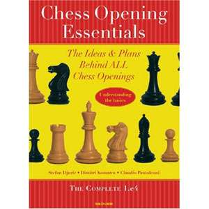 chess opening essentials volume 1 - Komarov, Djuric & Pantaleoni
