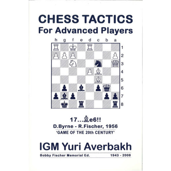 chess tactics for advanced players - Averbakh