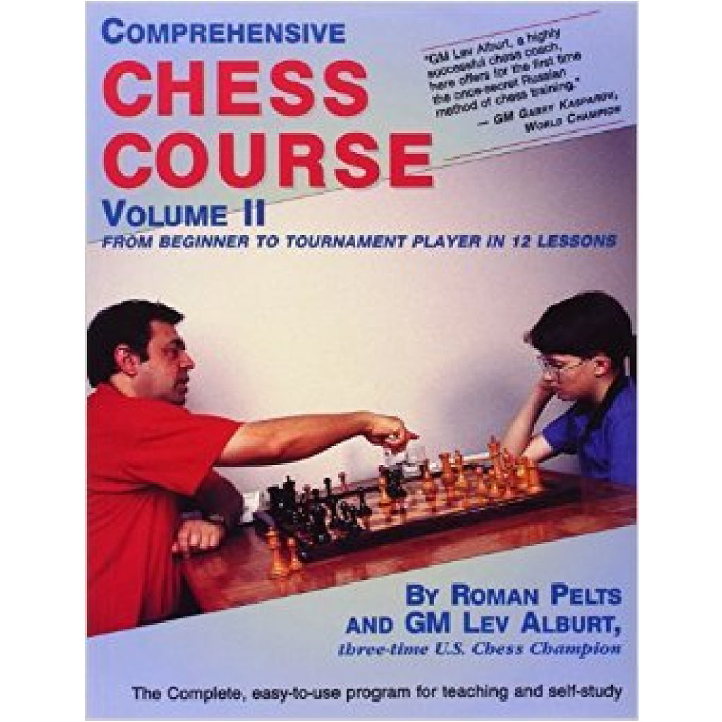 comprehensive chess course vol 2 - Alburt and Pelts