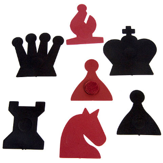 demo board replacement chess pieces