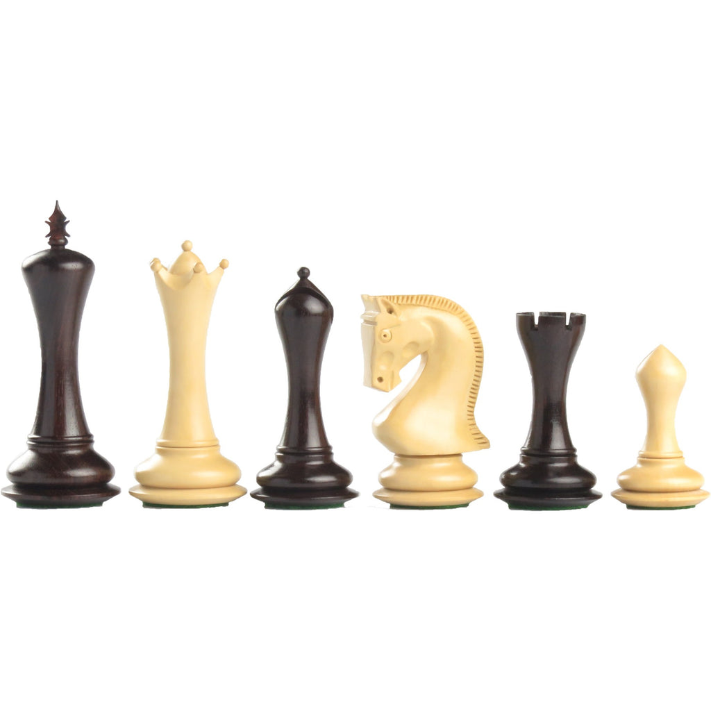 116mm empire wooden chess set in rosewood