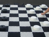 25cm giant draughts / checkers set