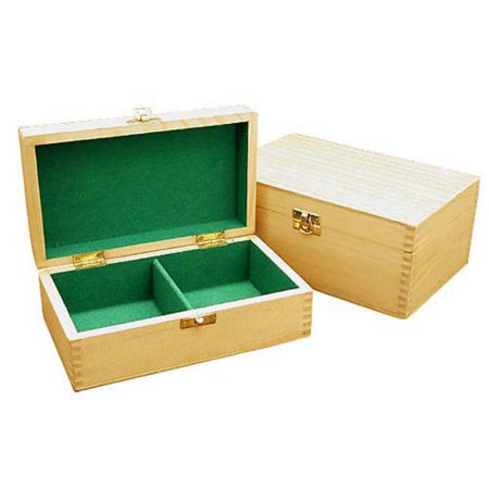 light wood chess box - large