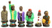 robben island political chess set