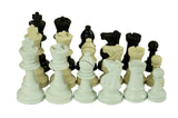 87mm plastic chess pieces for schools