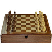 separate wooden magnetic board and box set: 30cm