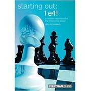 starting out: 1 e4 - McDonald