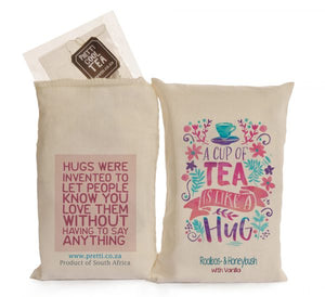 tea - a cup of tea is like a hug