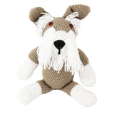 crochet soft toys: dog - schnauzer