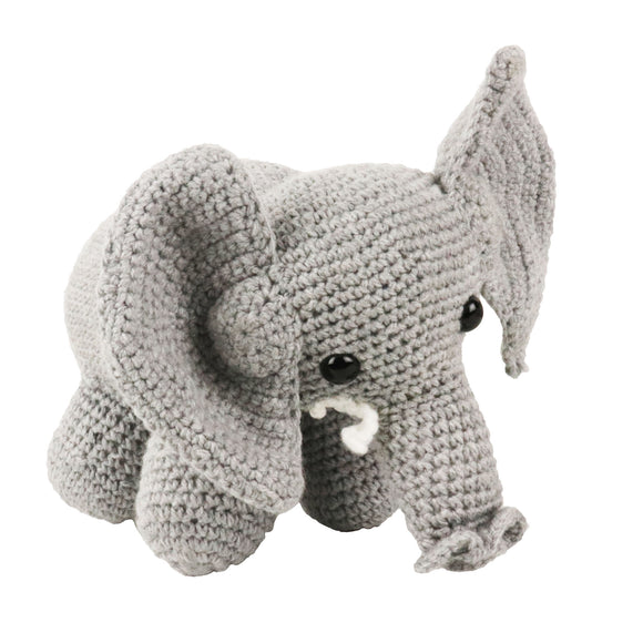 crochet soft toys: elephant