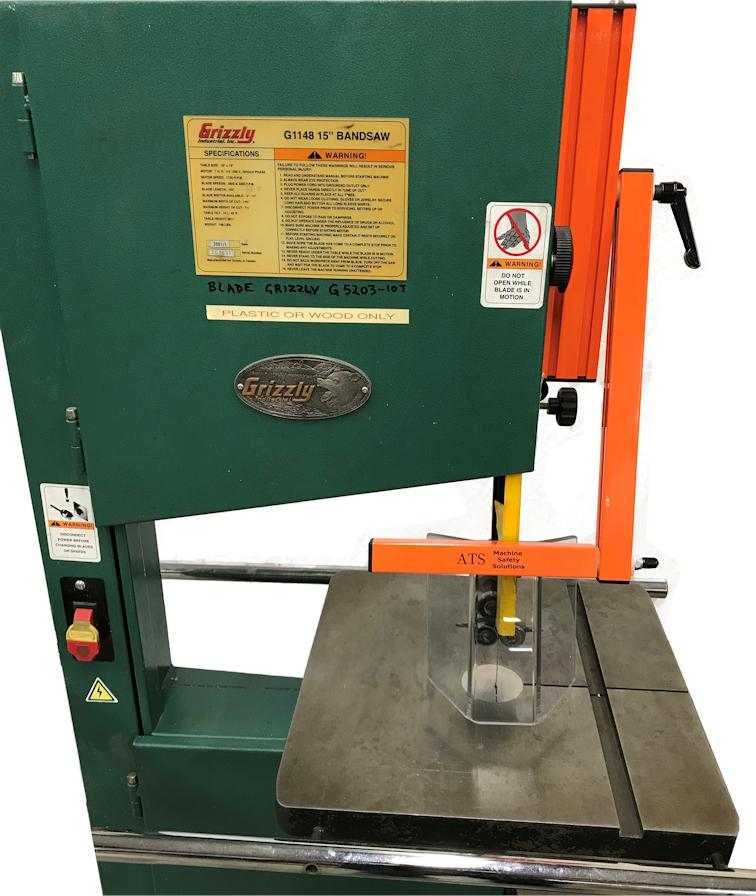 ATS Machine Safety Guards.  Drill Press, Grinders, Lathes, Milling Machines Safety Shields