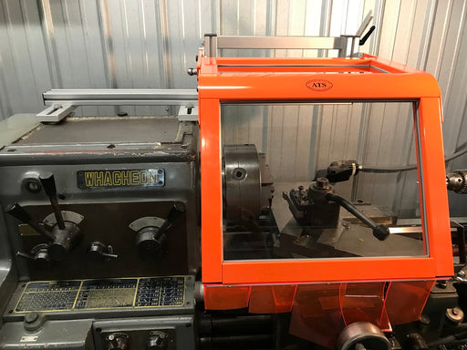 Lathe Safety Guard - Machine-Mount Hinged from ATS SAFETY