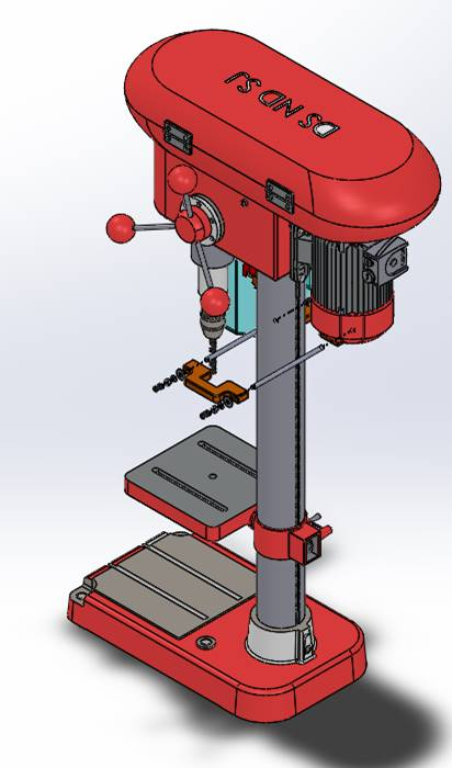 "Drill Press Guard (Up to 12"" Throat)"