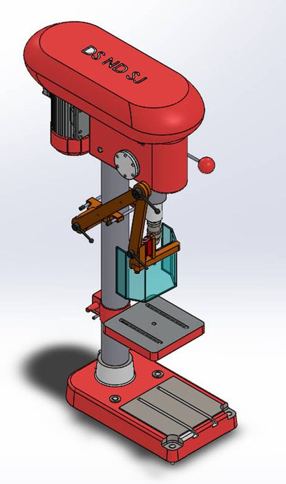 Drill Press Guard >> Drill Press Guard Up To 12 Throat Ats Machine Safety