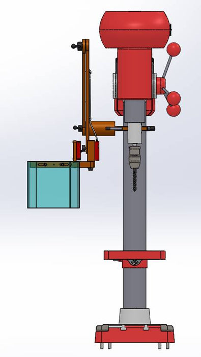 "Drill Press Guard (Up to 18"" Throat)"